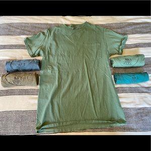 5, Pocket T-Shirts